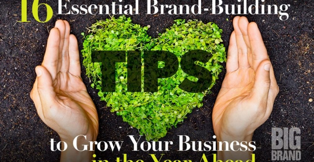 16 Essential Brand-Building Tips to Grow Your Business in the Year Ahead